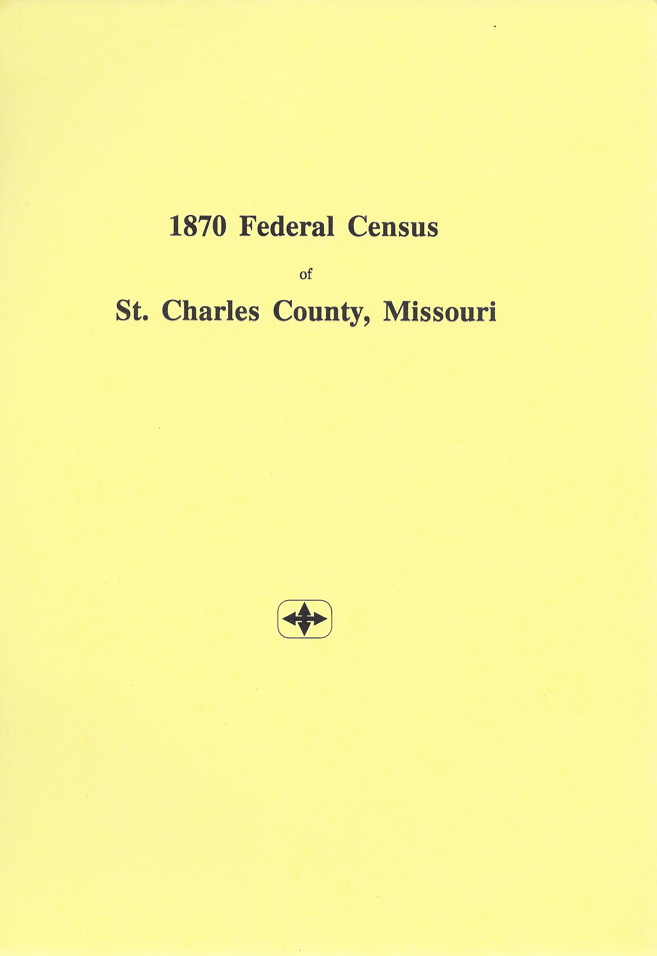 1870 Federal Census, St. Charles City Index