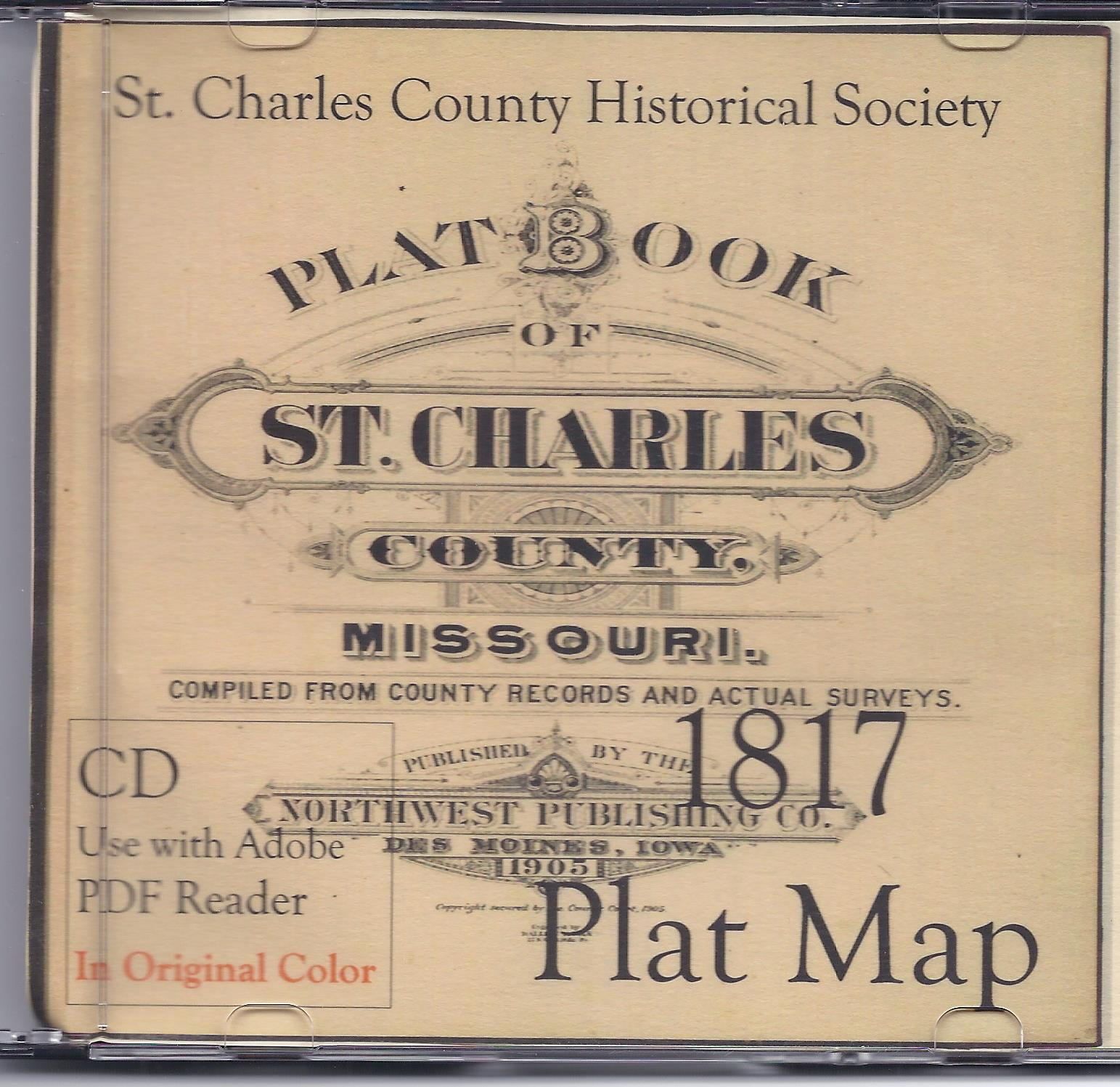 1817 Atlas of St. Charles County DVD