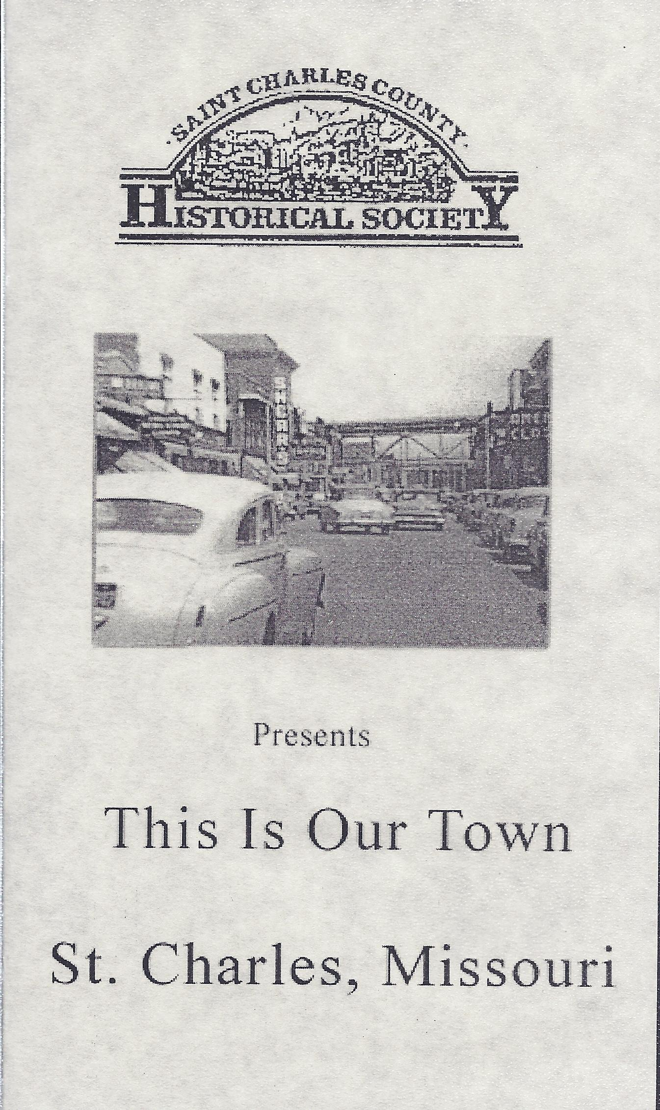 This is Our Town VHS *