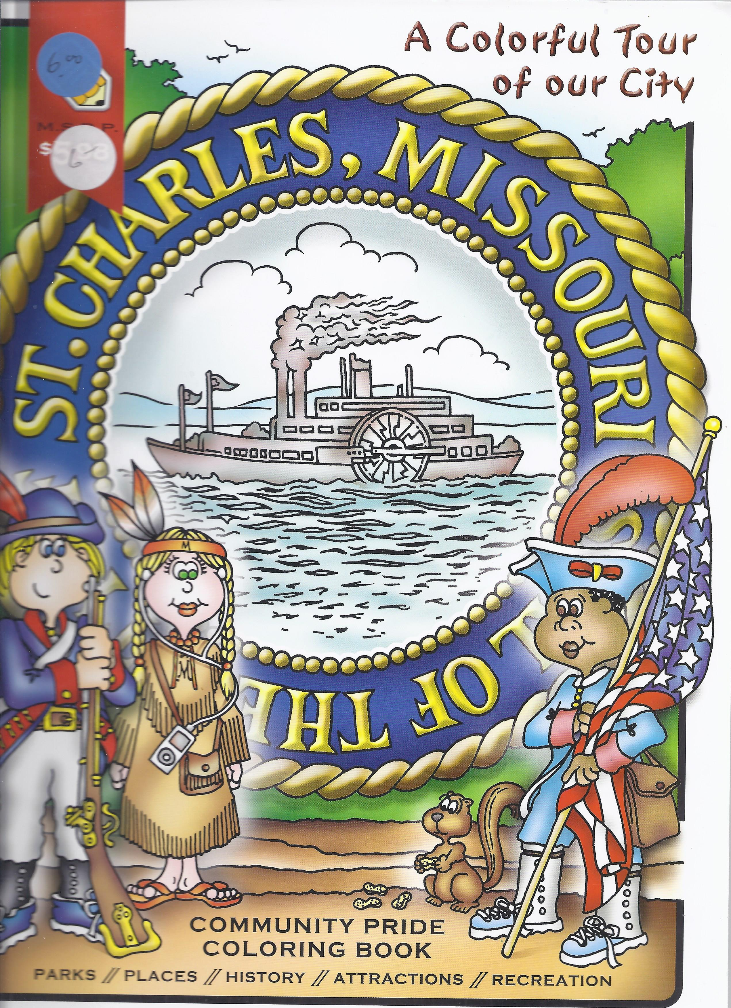 St. Charles, MO Coloring Book